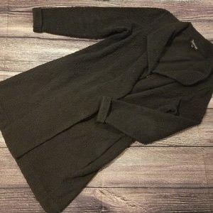 Eileen Fisher Black Button-down Cardigan